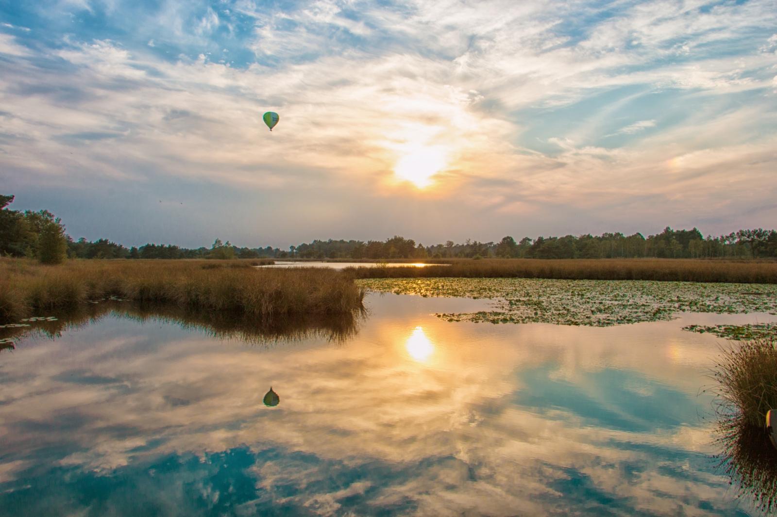 Spiegeling - Weer en landschap -